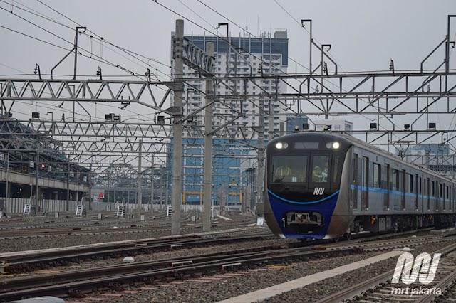 Registrasi Online Uji Coba Kereta MRT Jakarta Mulai 5 Maret 2019