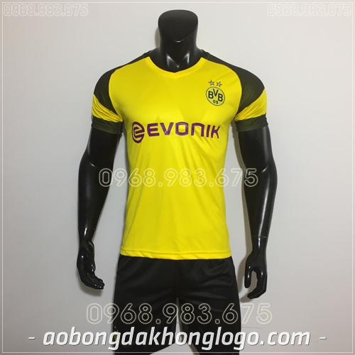 Áo Bóng Đá Câu Lạc Bộ Dortmund Vàng 2019