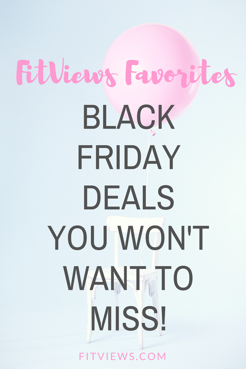Blogger Roundup: THE BEST 2017 KETO and FITNESS BLACK FRIDAY DEALS!