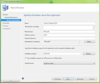 How to correctly setup Project, Visio and Office as an application in SCCM 2012 3