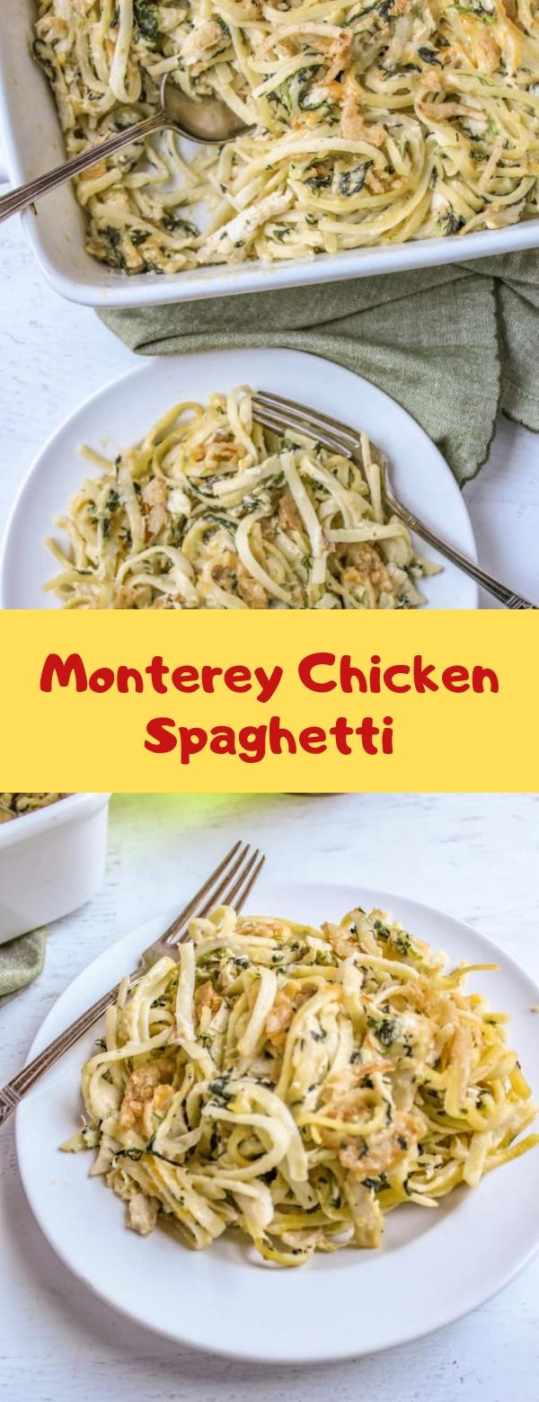 Monterey Chicken Spaghetti #CHICKEN #SPAGHETTI
