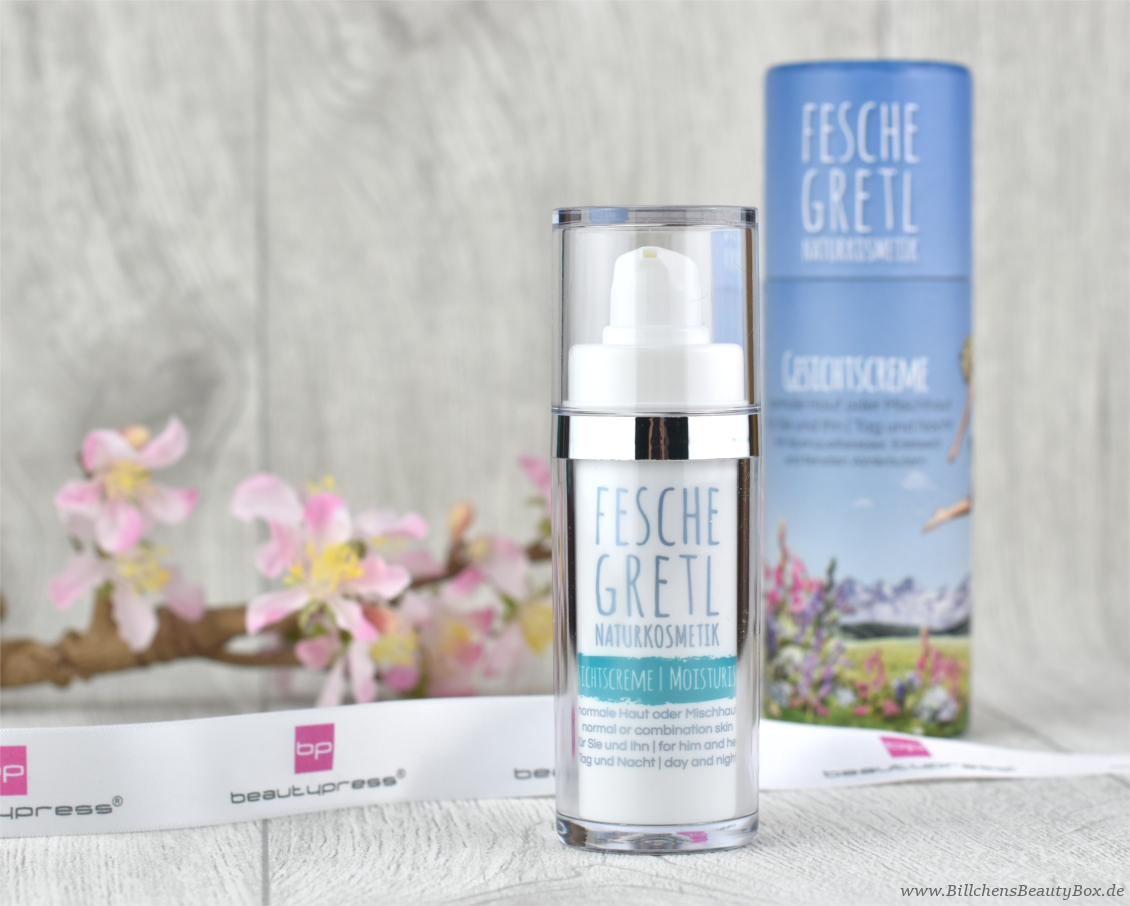 beautypress News Box - Fesche Gretl Naturkosmetik – Gesichtscreme