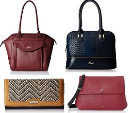Lavie & Puma Bags, Wallets 60% Off starts from Rs.480 at Amazon