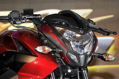 2017 Bajaj Pulsar 200NS Headlight with side light
