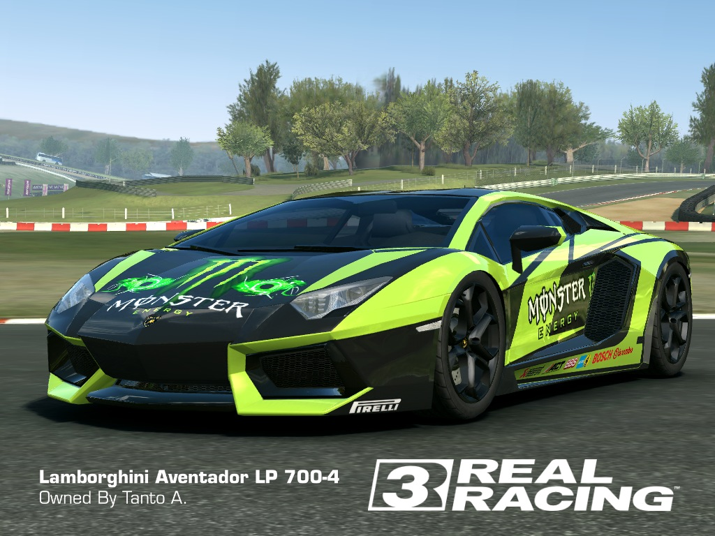Real Racing 3 Lamborghini Livery
