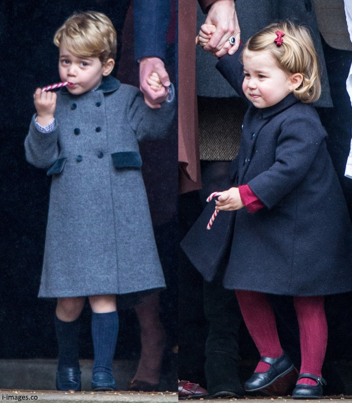 Duchess Kate George And Charlotte To Be Page Boy
