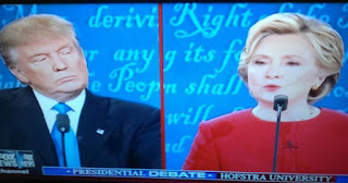 debate, Donald Trump, Hillary clinton