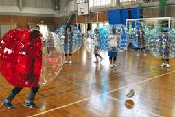 バブルサッカー体験教室