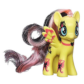 My Little Pony Ponymania Collection Fluttershy Brushable Pony
