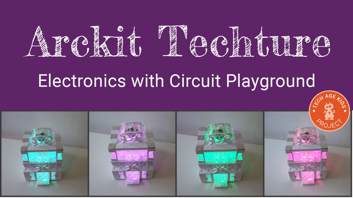 Arckit Plus Circuit Playground Electronics Arckittechture Simple Rgb Led Strip Effect Projects Circuits