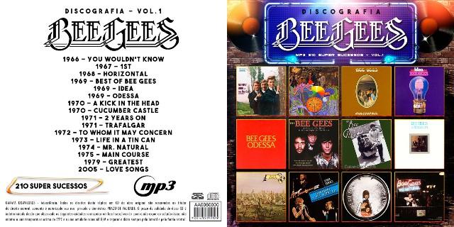 MP3 – Bee Gees – Discografia 1 (2018)