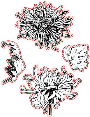 Vintage Florals Die Set