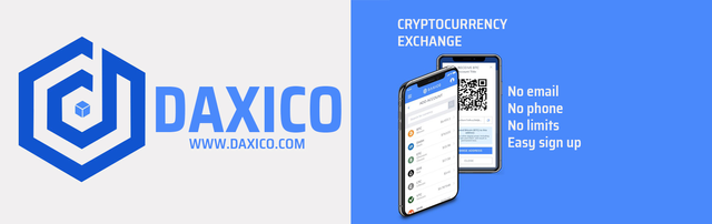Daxico: Decentralized Anonymous Cryptocurrency Exchange