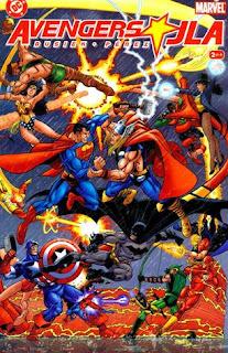 JLA/Avengers (DC/Marvel, 2003) cover