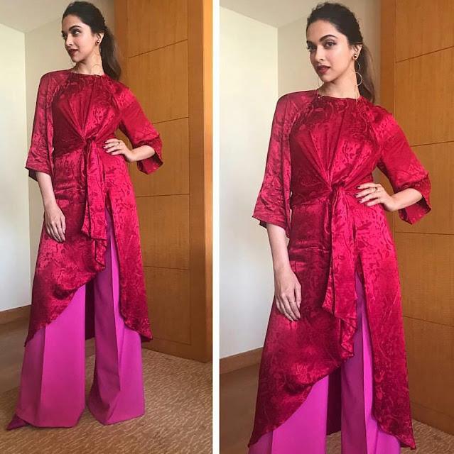 Deepika Padukone In Zara For Oppo Mobile India