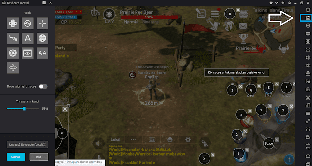 Revolution telah resmi dirilis di Indonesia sedikit waktu yang lalu Tutorial Main Lineage 2 Revolution di PC / Laptop Dengan Nox