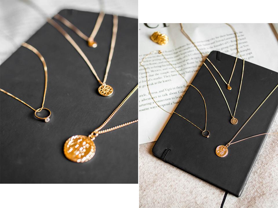 Dainty golden necklace - Siro kultanen kaulakoru