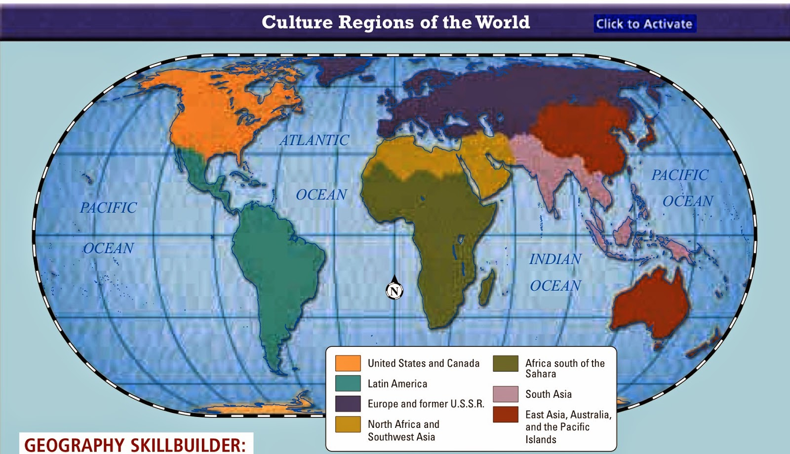 the world s culture regions
