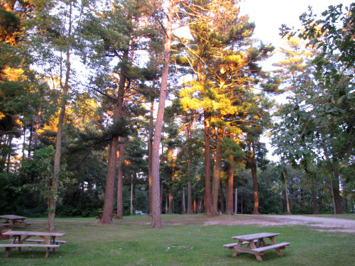 alpenglow on campground