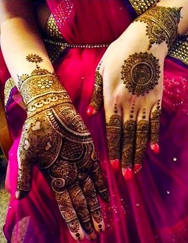 Indian Bridal Mehndi Designs 2016