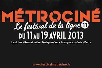 Cinéma : Métrociné le festival de la ligne 11 du 11 au 19 avril 2013