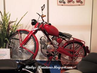 motocicleta, antigua, spain