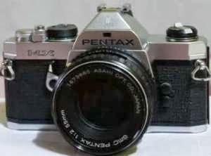 Pentax MX tampak depan