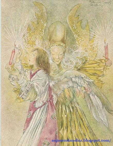 Mensagem dos Anjos da Árvore Natalina!