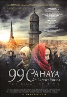 Download Film 99 Cahaya Di Langit Eropa (2014) WEBDL