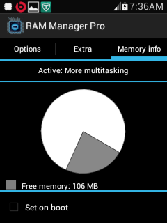 Update New RAM Manager Pro V7.0.0 Apk