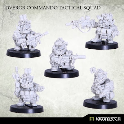 Review de Dvergr Commando Tactical Squad - Kromlech