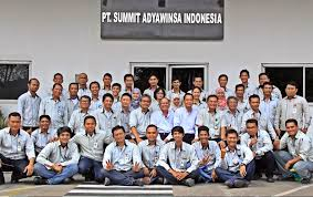 BKK SMK Texmaco Karawang Untuk PT Summit Adyawinsa Indonesia(SAI)
