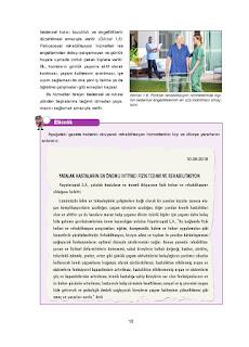 Sağlık Bilgisi ve Trafik Kültürü Ders Kitabı Cevapları Ada Yayınları Sayfa 18