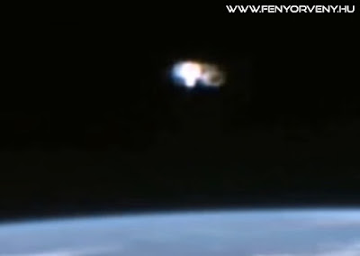 Megszakították az űrállomás élő közvetítését egy UFO miatt