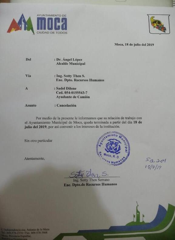 Ayuntamiento de Moca cancela empleado que colocó bandera en camión de basura