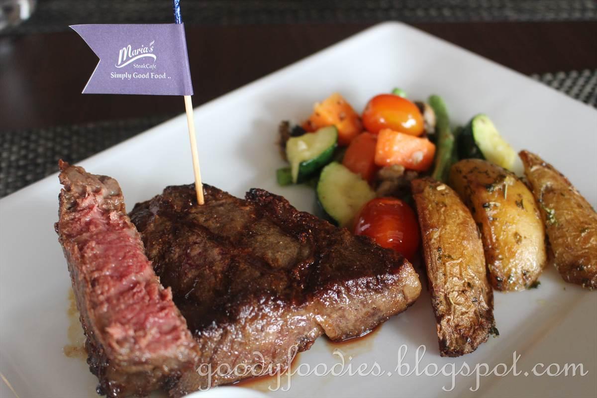 Maria S Steak Cafe Menu