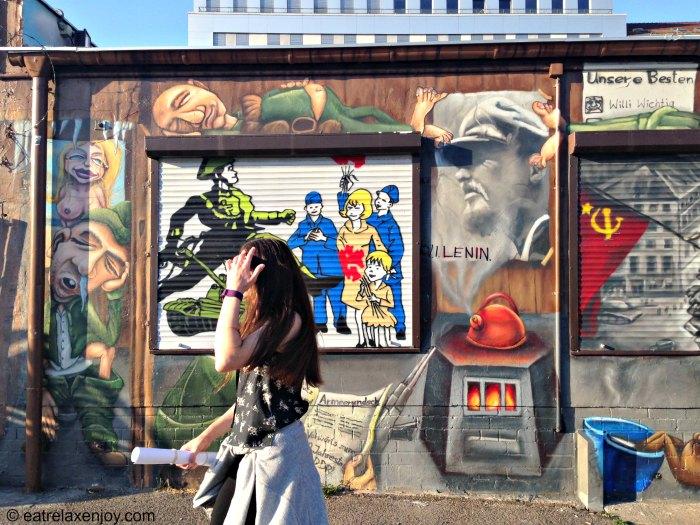 איסט סייד גלרי – חומת ברלין