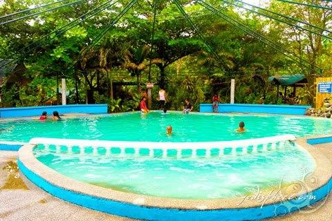 Main pool inside the Marinduque Hot Springs Resort