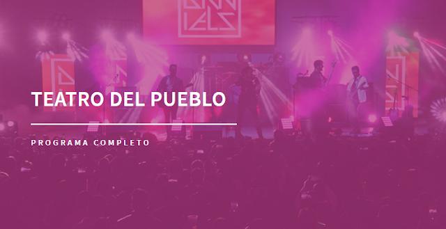 FICT teatro del Pueblo Feria Texcoco Programa Completo