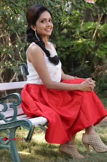 Actress Mahima Nambiar Latest Stills in White Top and Red Skirt at Kuttram 23 Movie Press Meet  0035.jpg