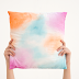 How To Make A Watercolor Pillowcase