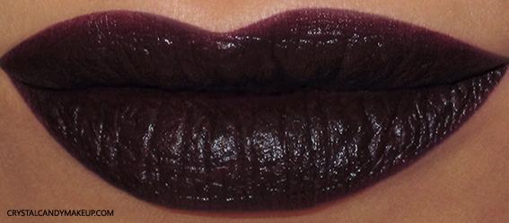 Urban Decay Matte Revolution Liptick Blackmail Swatch