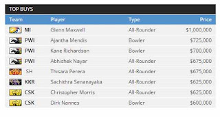 Pepsi IPL 2013 Player Auction