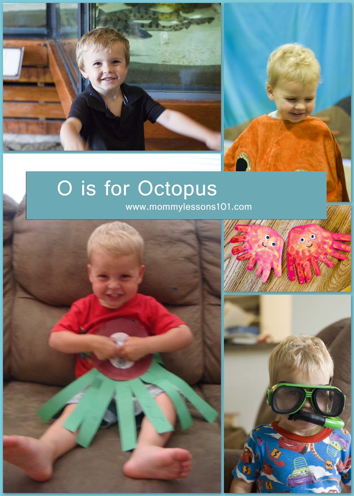 Mommy Lessons 101 O Is For Octopus