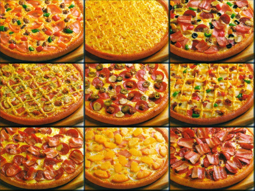 ملف كامل لطرق عمل البيتزا الإيطالية والبيتزا الأمريكية