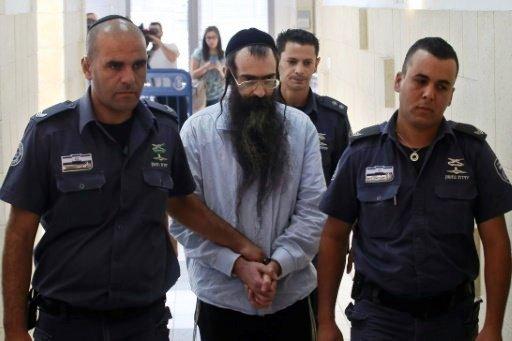 المؤبد لارهابى يهودى قتل طفلة وجرح 6 آخرين