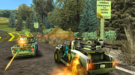 Pursuit Force Extreme Justice PSP