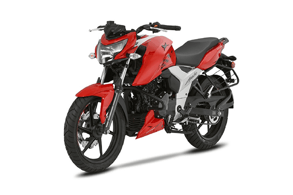 New 2018 TVS Apache RTR 160 4V Naked version