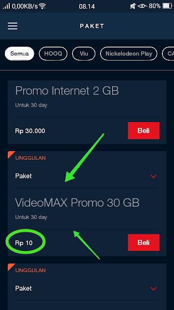 Daftar Videomax 30gb