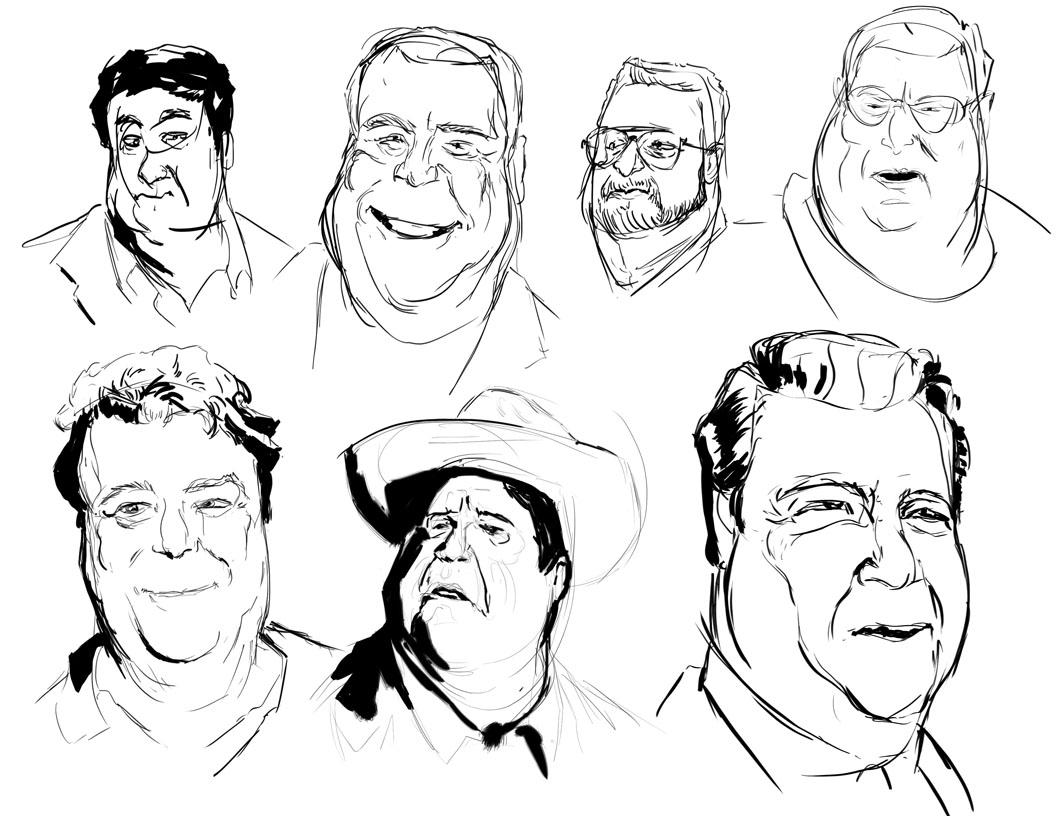 Michael Barquero Poly Portraits